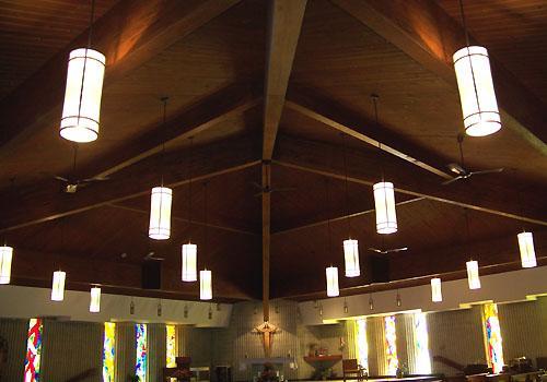 Eclipse Lighting Elk Grove Church